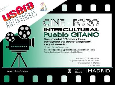 Cartel Cine Foro GITANO