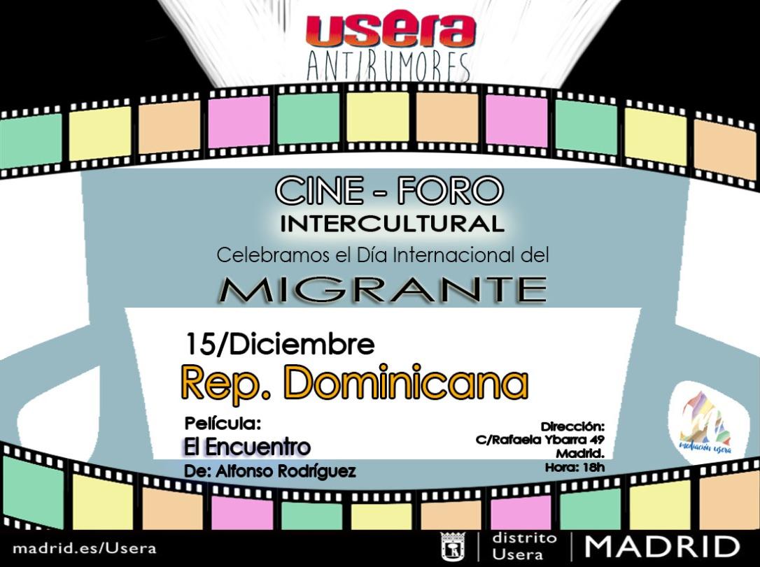 Cine Foro Dominicana 2018 migrante